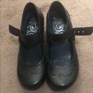 Black Dansko heels size 39